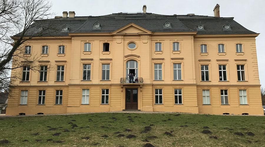 Salto Chorale auf Chorfahrt in Schloss Trebnitz