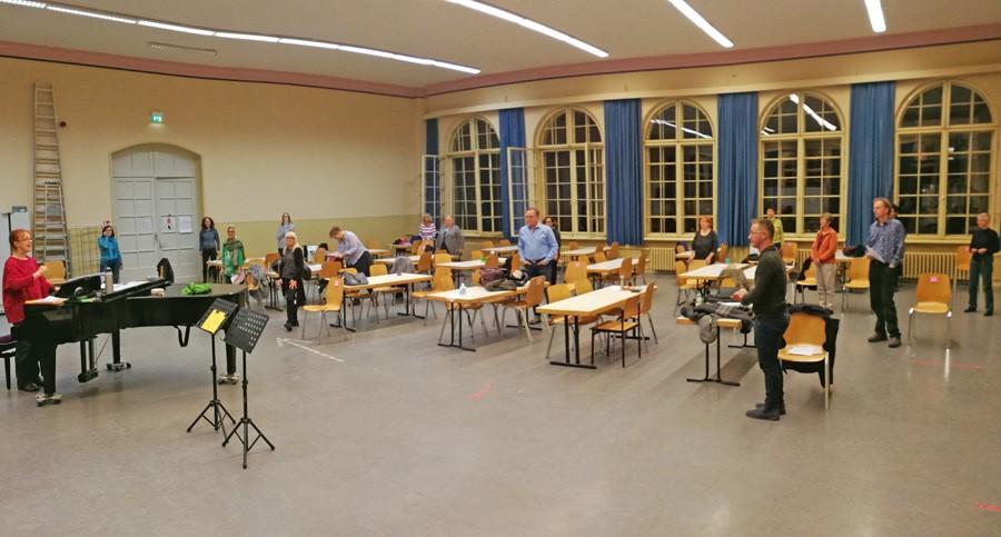 Salto Chorale Berlin – Proben jetzt wieder möglich